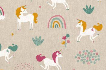 decostoffen-eenhoorn-unicorn-linnenlook-stof